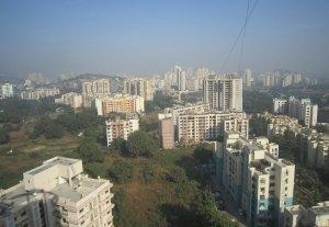 Индия Вид на Мумбаи