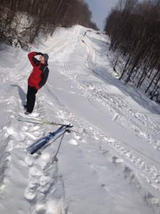 Лыжи Ваня