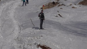 Лыжи Володя