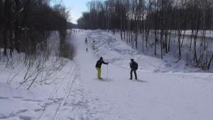 Лыжи гора