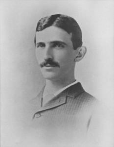 Никола Тесла в возрасте 29 лет