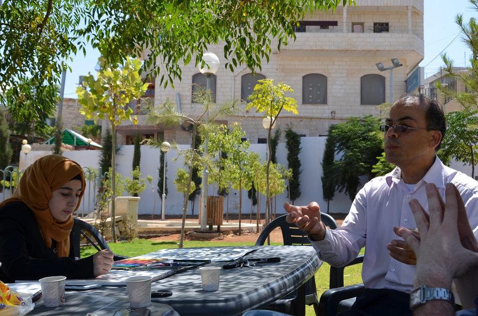 Эль Халиль, пленэр 29 августа 2015
