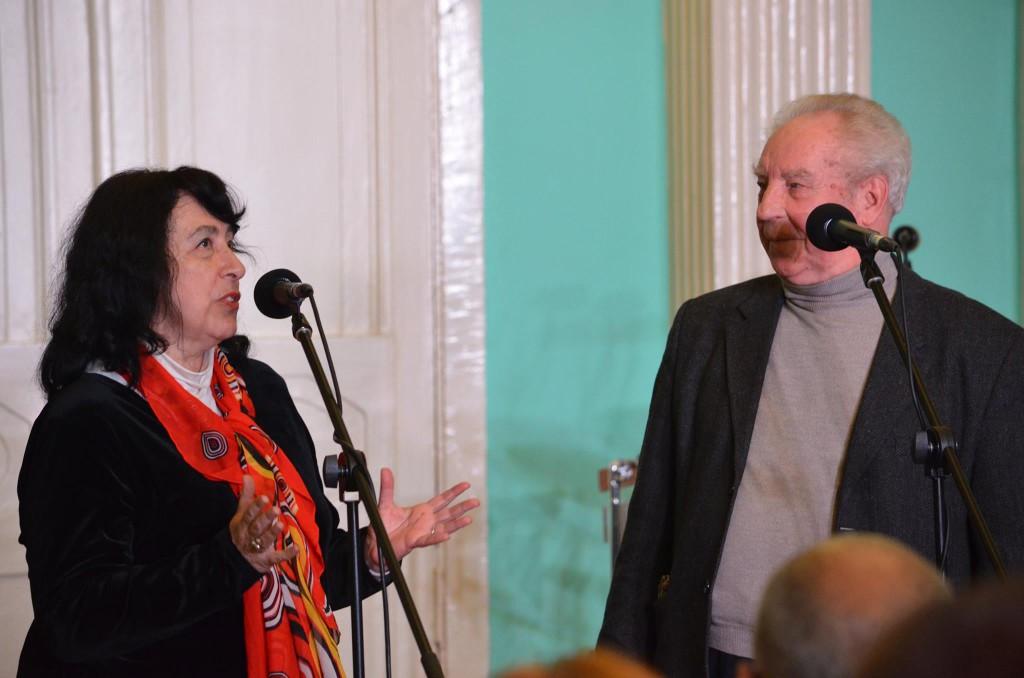 Фото Пабло Родригеса.Татьяна Львовна Владимирская и Николай Сергеевич Леонов