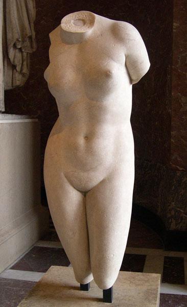 Afrodita-Cnidos-tors-Louvre