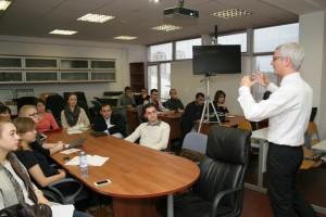 Лекция в РУДН от профессора из Словакии