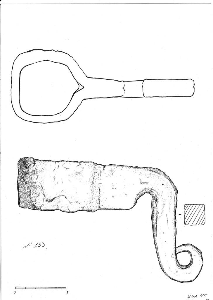 Крюк, предположительно для натяжки шатра
