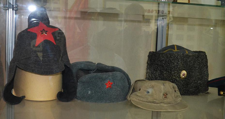 Головные уборы Красной Армии